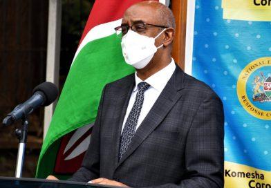268 more positive Coronavirus cases in Kenya now 6941-Health CAS Rashid Aman