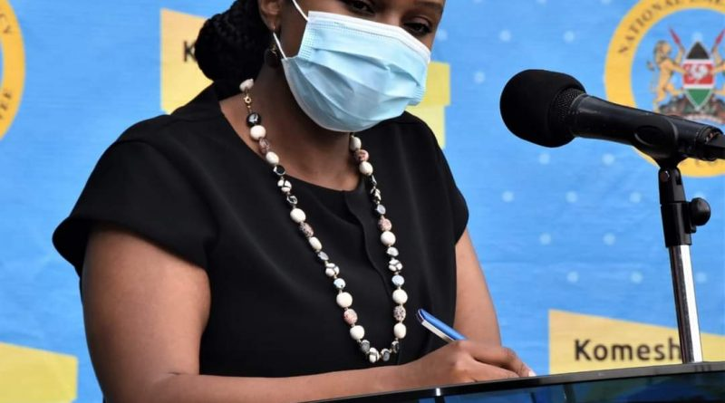 515 more Covid-19 cases in Kenya now 29849 – Health CAS Dr. Mercy Mwangangi