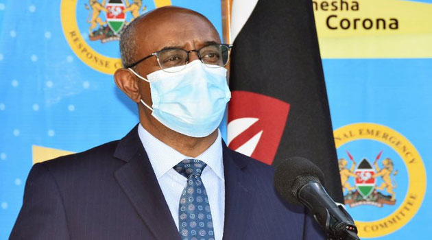544 more Covid-19 cases in Kenya now 22597 – Health CAS Dr Rashid Aman