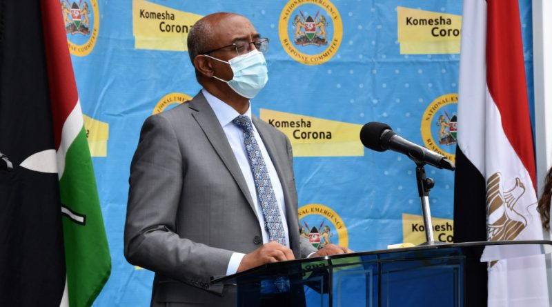 104 Covid-19 cases in Kenya today now 35,460 – Health CAS Dr Rashid Aman