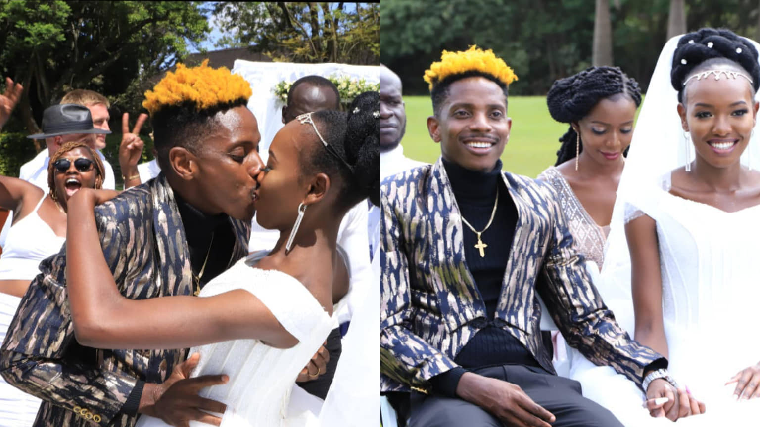 Always know I am here for you, Eric Omondi´s sweet