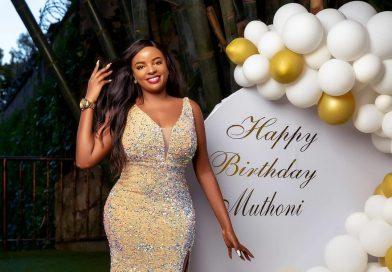 Muthoni wa Mukiri glamorously celebrates 32nd birthday