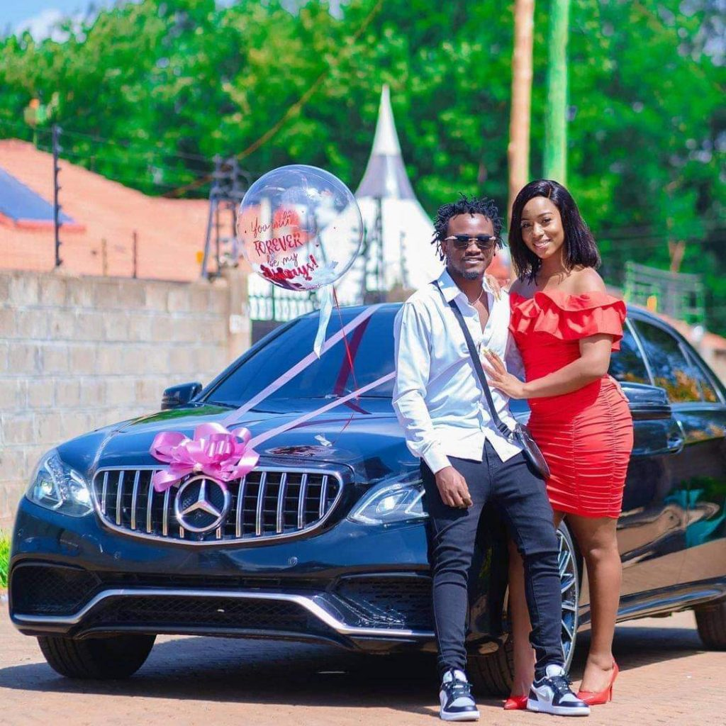 Image result for Diana Marua buys mercedes