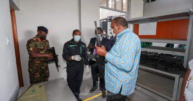 President Kenyatta Unveils Shs.4bn Gov't Weaponry Factory In Ruiru