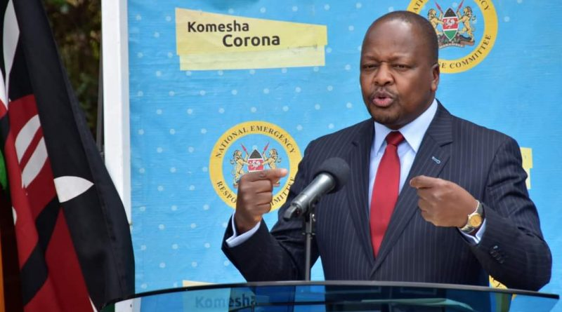 1698 new cases,456 recoveries and 16 succumb to Covid-19 in Kenya