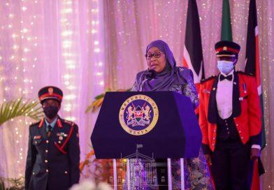 My visit is aimed at cementing Kenya-Tanzania ties, President Suluhu says